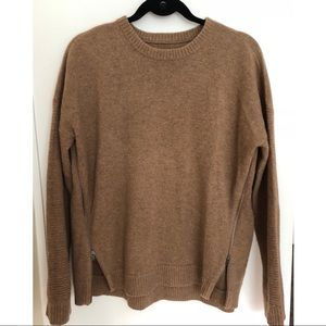 J. Crew Sweater with Side Zippers